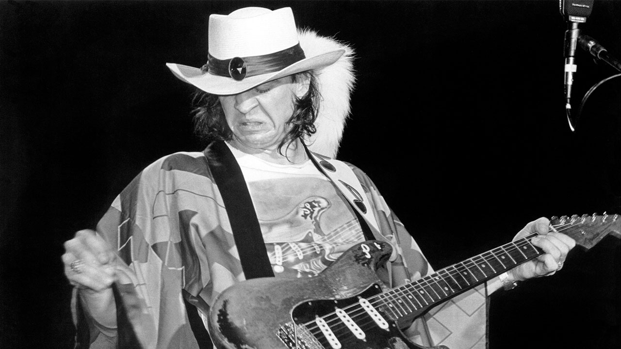 Stevie Ray Vaughan Guitarist