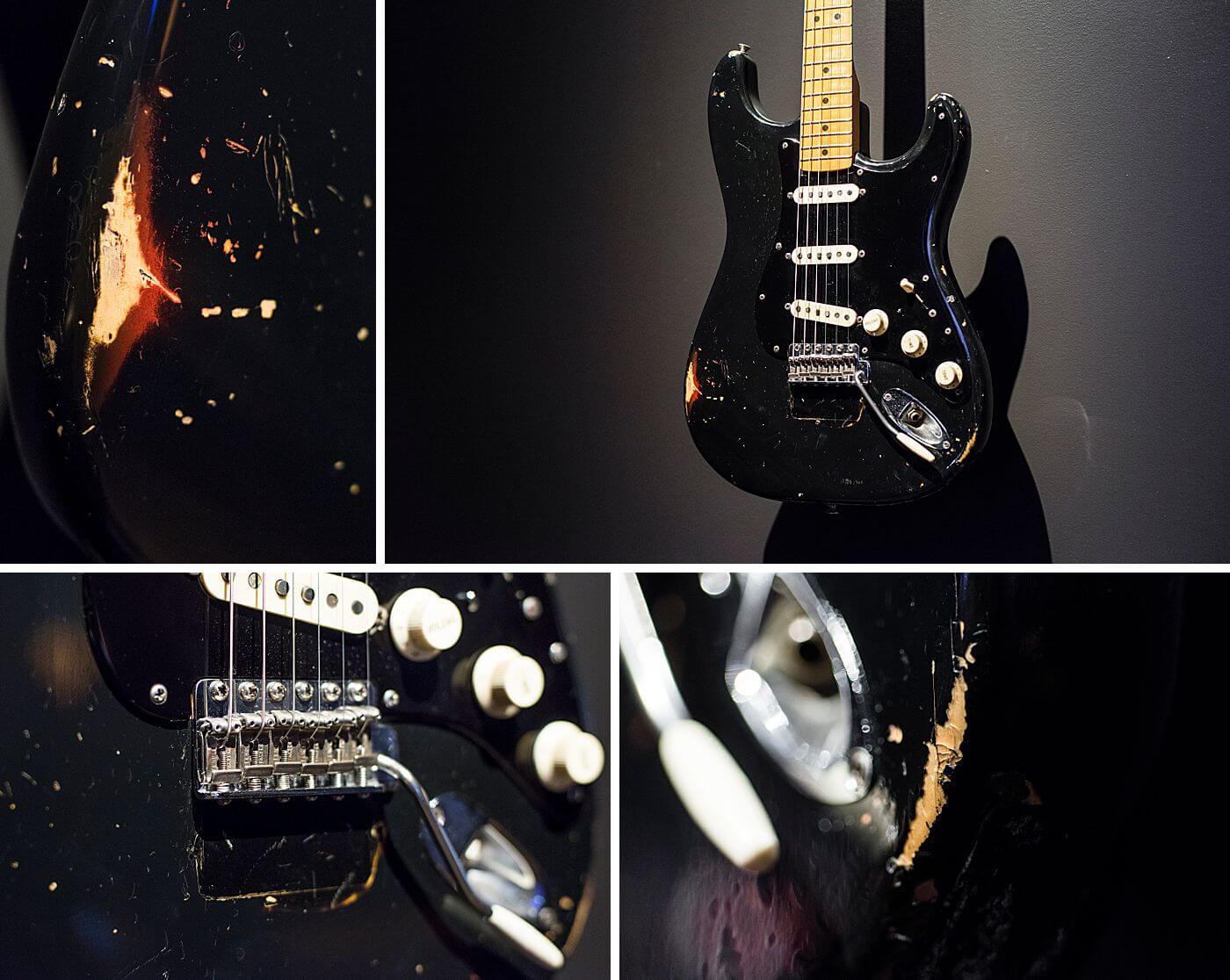 Black Strat Guitar