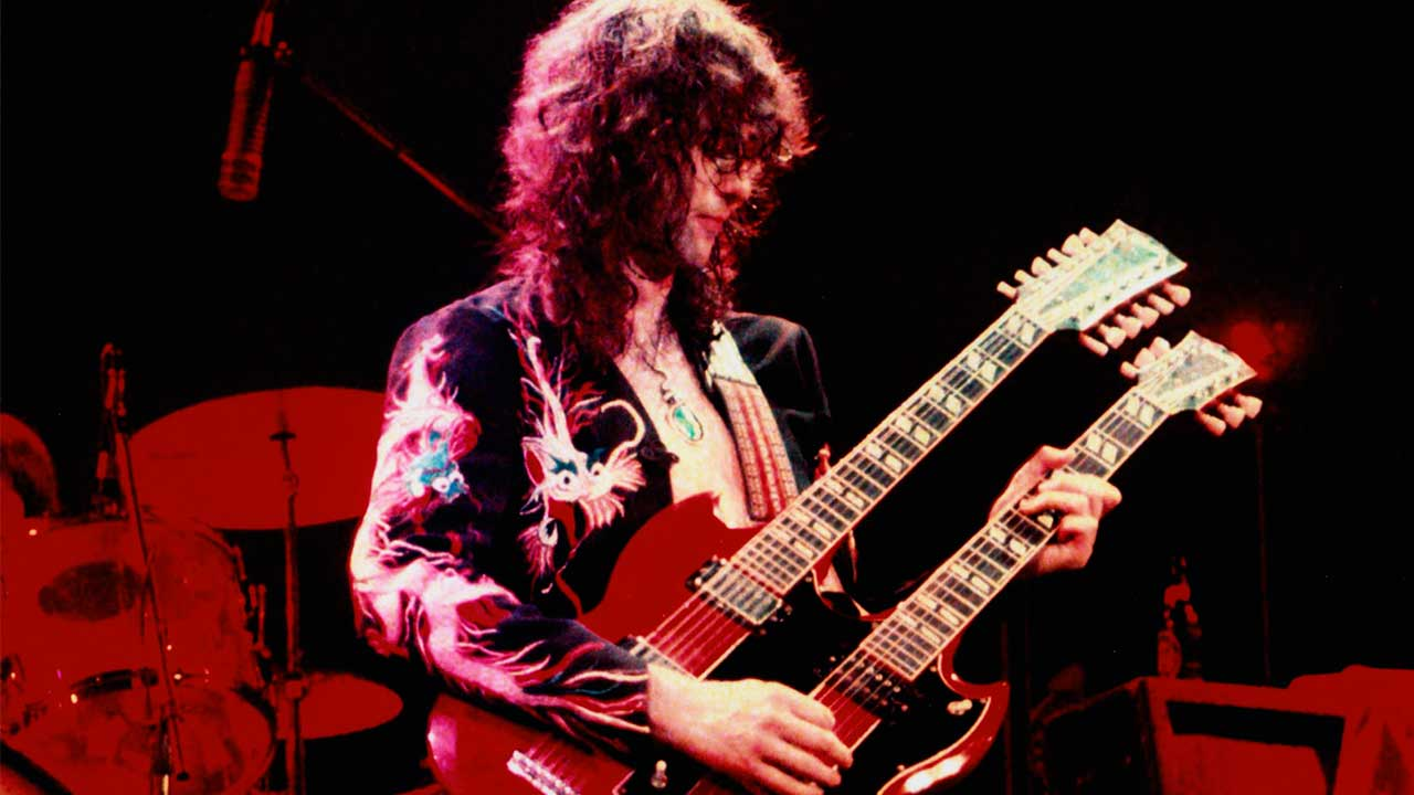 Jimmy Page Guitarist